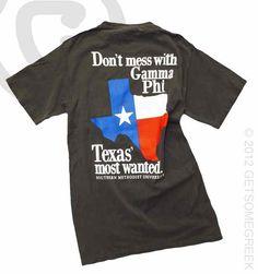 Texas Most Wanted Shirt-PR shirt! OH MY GOSH I need this shirt!!!!!