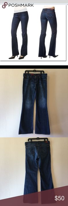 """AG Adriano Goldschmied """"The Club"""" flare jeans 💕 Excellent condition. Only worn once. No fraying on hem. 32 L. Ag Adriano Goldschmied Jeans Flare & Wide Leg"""