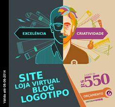 Excelência, competência, comprometimento e criatividade! Criação de Sites, Lojas Virtuais, Blogs e Logotipos à partir de R$550 reais e entrega em até 24hrs.  Aproveite! Promoção válida por tempo limitado.  Sintonia Visual - 8 anos e mais de 1.500 clientes satisfeitos!  Acesse: www.sintoniavisual.com.br  #promoção #oferta #oportunidade #criaçãodesite #agênciasite #criação #lojavirtual #lojaonline #ecommerce #criaçãodeecommerce #blogpersonalizado #criaçãodeblog #logotipo #criaçãodelogotipo