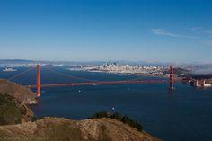 Yes it is Golden Gate Bridge. Watching it from Hawk Hill.