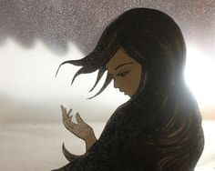 The last days of winter - by Elly Mackay. I seriously am in love with all this artist's works!