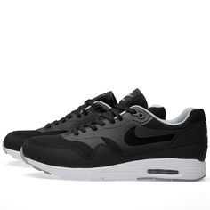 newest 58b2f 8688c Buy the Nike W Air Max 1 Ultra Moire in Black   Wolf Grey from leading mens  fashion retailer END.
