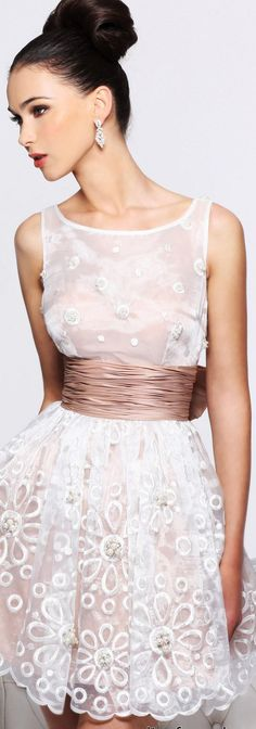 The glamour of satin and lace Dress Skirt, Lace Dress, White Dress, Sheath Dress, White Lace, Looks Party, Fashion Vestidos, Prom Dresses Online, Dresses 2016