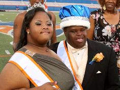 Students with Down syndrome crowned homecoming king and queen