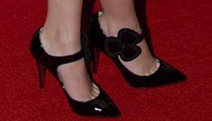 Cher Lloyd Gets ON the Geometric Print Trend in Knit Mini Dress
