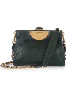 Absolutely gorgeous Nina Ricci bag in emerald green (sale)