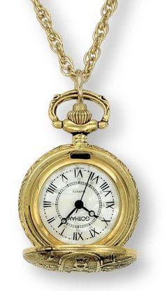 Gotham Women's Antique Design Gold-Tone Quartz Fashion Pendant Watch # GWC14119Gby Gotham -   Price: $34.95