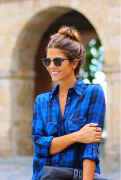 How to Chic: HOW TO WEAR A CHECK SHIRT
