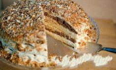 The fastest and delicious cake Russian Cakes, Russian Desserts, Russian Recipes, Delicious Cake Recipes, Yummy Cakes, Dessert Recipes, Yummy Food, Eastern European Recipes, European Cuisine