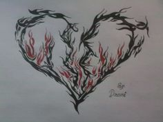 heartbreak tattoos | Cool Tattoo Zone: Heart Tattoo ...