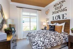 Bedroom at Escala Plan 1 #PardeeHomes #LV