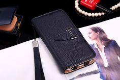 Buy Designer hermes iphone 6/6S Leather Case Cover Blue