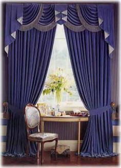 Awesome Drapery Ideas | ... Interior Design 2 Cool Color Home Interior Curtain  Design Ideas