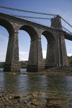 Menai Bridge, Anglesey, Wales