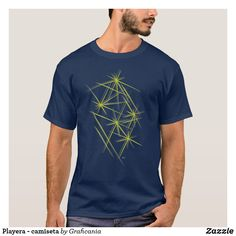 Playera - camiseta Mens Tops, T Shirt, How To Wear, Design, Fashion, T Shirts, Products, Pictures, Tee Shirt