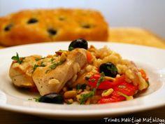 Arroz con pollo - ris og kylling - TRINEs MATBLOGG