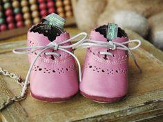 Baby Shoes (parme Rose) by Filament   petiteparis