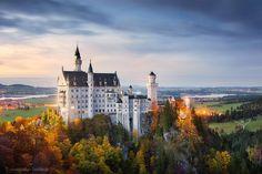 #Neuschwanstein - Fairytale Castle by Stefan Hefele on 500px