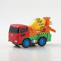 UD Trucks Merchandise Quon Pull Back Mixer truck Car carrier Tomica Choro Q New #UDTrucks