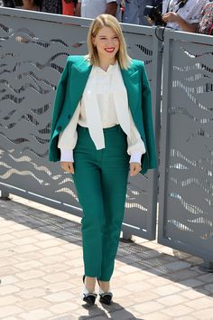Lea Seydoux | Get inspired and browse through the street style looks from the 2018 Cannes Film Festival.