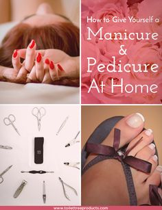 A step-by-step guide for a DIY manicure and pedicure at home to help you keep your hands and feet looking and feeling great without breaking the bank.