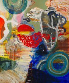 Homare Ikeda artist @ http://www.williamhavugallery.com/wp-content/gallery/artists/2012/06/Ikeda-Fish-Eye-SM-web.jpg