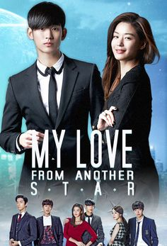 My Love from Another Star starring Kim Soo Hyun and Jeon Ji Hyun Love this drama lo lovely story now every girl want to marry a Allien jaja ;p Kim Soo Hyundai was hillarious in this drama ; Korean Drama List, Korean Drama Series, Watch Korean Drama, Korean Tv Shows, Big Bang Top, Jung Yong Hwa, Ranbir Kapoor, Kdramas To Watch, Netflix