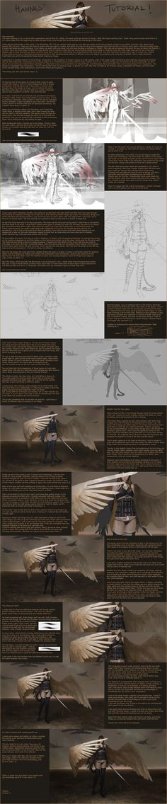 War - Tutorial by *algenpfleger ✤ || CHARACTER DESIGN REFERENCES | キャラクターデザイン | çizgi film • Find more at https://www.facebook.com/CharacterDesignReferences & http://www.pinterest.com/characterdesigh if you're looking for: #color #theory #contrast #animation #how #to #draw #paint #drawing #tutorial #lesson #balance #sketch #colors #digital #painting #process #line #art #tips || ✤