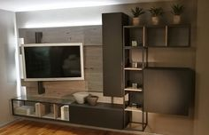 Industrial Style, Flat Screen, Living Room, Room Ideas, Future, Tv, Decoration, Home Decor, Houses