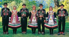National Costumes (bunad) from Setesdal Valley in Norway. - From THE ESSENCE OF THE GOOD LIFE™ -   https://www.facebook.com/pages/The-Essence-of-the-Good-Life/367136923392157