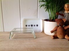 JAJ Pyrex Gaiety White Snowflake Butter Dish With Lid - VIntage by Onmykitchentable Vintage on Gourmly