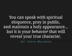 going to church, reading bible verses doesnt guarantee you a good attitude