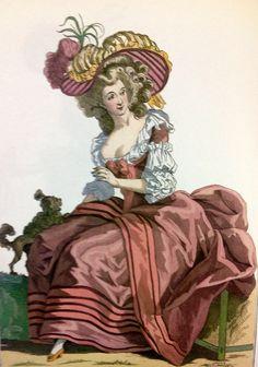 Vestido angloamericano 1784