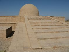 Uzbekistan Termez Fayz Tepe Buddhist Temple. 2000 years old monastery complex.