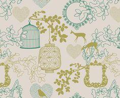 Fairytale Prime Lime CB and Teal on Latte | Design Team