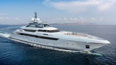 Heesen Yachts sold 70 m yacht. Exterior design by Espen Oeino, interior design by Sinot Exclusive Yacht Design. http://www.yachtemoceans.com/heesen-yachts-sold-70-meter-yacht/ #superyacht #yacht #megayacht