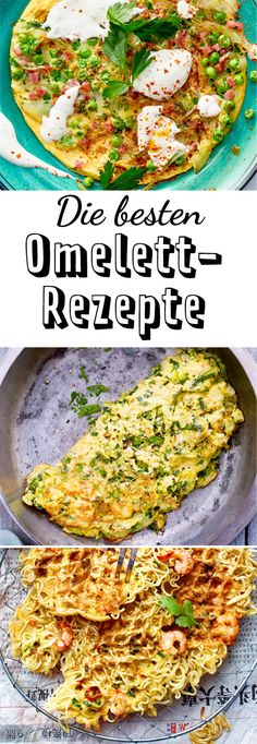 Vegetarian, with bacon or very unusual – with an omelette you always lie … - Snack Mix Recipes Omelette Recipe, Bacon Omelette, Besan Cheela, Clean Eating, Healthy Eating, Snack Mix Recipes, Indian Food Recipes, Ethnic Recipes, Party Buffet