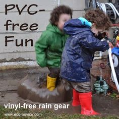 Eco-novice: Puddle Jump Safely with PVC-free Rain Gear