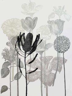 Dianne Fogwell : 21 August - 9 September 2014 Linocut