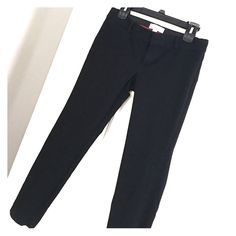 Banana Republic: Sloan Fit Black Ankle Dress Pant These will be your go-to pants for work! Good condition, black, Sloan Fit, cotton/spandex blend. Banana Republic Pants Ankle & Cropped
