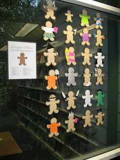 Ginger-who? Book character gingerbread. A great contest idea!