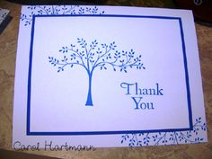 Stampin Up, Thoughts and Prayers