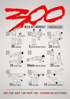 300 routine