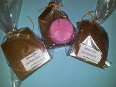 Natural Glow  : Pink Vannila Scrub soap