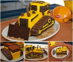 Construction Cake Ideas Easy Video Tutorial
