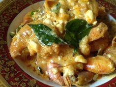 Azie Kitchen: Udang Goreng Butter dan Telur Masin Yang Terlajak Sedap Seafood Recipes, Cooking Recipes, Malay Food, Nasi Lemak, Singapore Food, Prawn, Fish And Seafood, Kitchen Hacks, Asian Recipes