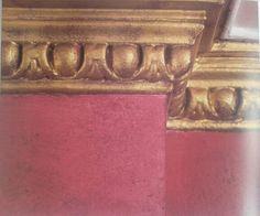 """#gold #decorative #cornice #moulding #cornisa #decorativa #color #oro #Laura #Ashley """"The #colour #book"""""""