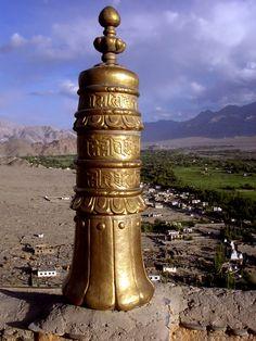 Stupa over Leh