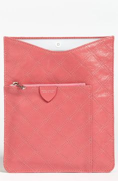 MARC JACOBS Leather iPad Sleeve available at #Nordstrom