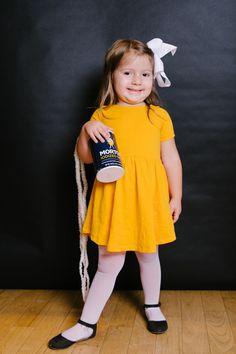 DIY Morton Salt Girl Costume
